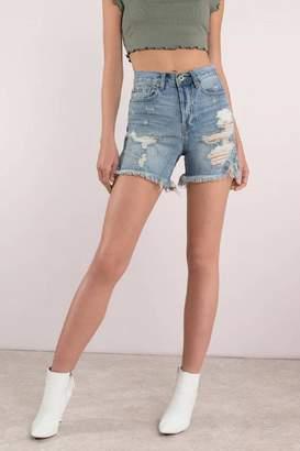 Pistola Denim Shorts