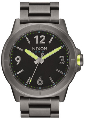 Nixon Men&s Cardiff Stainless Steel Watch $200 thestylecure.com