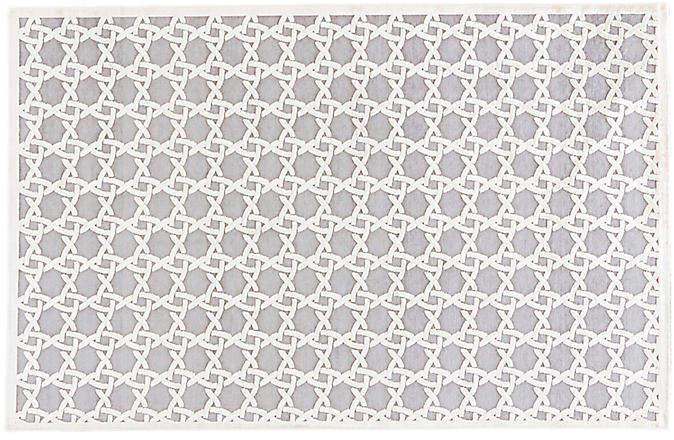 Taitha Rug - Ivory/Gray - 5'x7'6