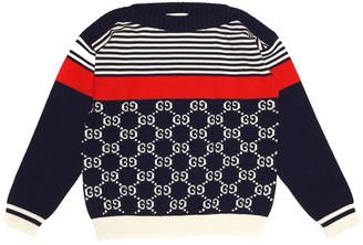 Gucci Kids GG cotton sweater