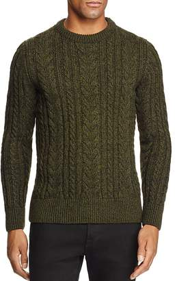 Superdry Jacob Heritage Cable Knit Crewneck Sweater