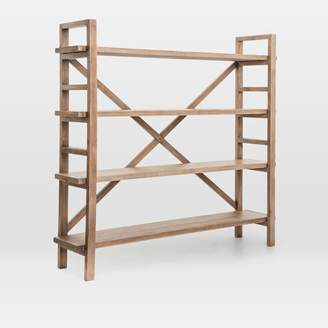 west elm Reclaimed Pine Wood Bookshelf