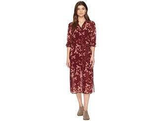 Lucky Brand Mixed Print Emily Dress Women's Dress
