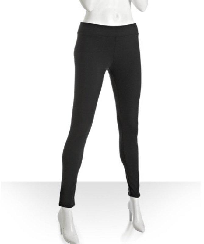 BCBGeneration black nylon stretch leggings