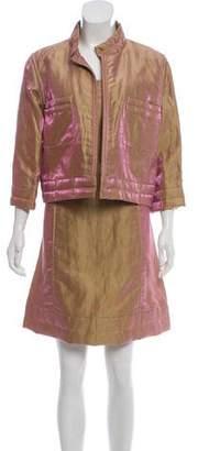 Chanel Iridescent Dress Set