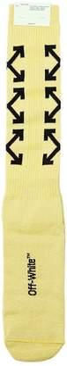 Off-White Arrows Cotton Knit Socks