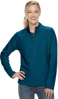ZeroXposur Women's Summit 1/4-Zip Textured Fleece Jacket
