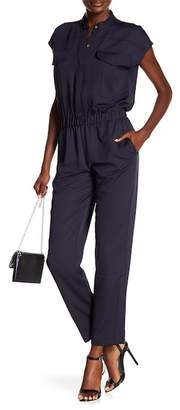 Rachel Roy Utility Short Sleeve Jumpsuit