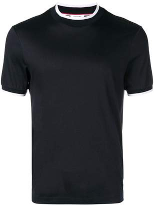 Thom Browne Mock Neck Cotton Tee