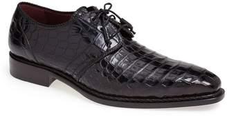Mezlan 'Marini' Alligator Leather Derby