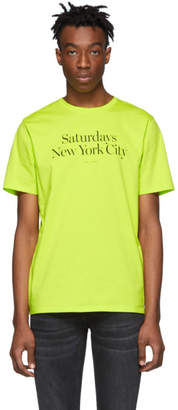 Saturdays NYC Yellow Miller Standard T-Shirt