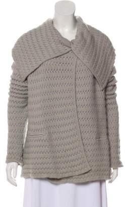 Armani Collezioni Wool-Blend Long Sleeve Cardigan w/ Tags
