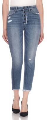 Women's Joe's Collector's Debbie Crop Skinny Jeans $198 thestylecure.com