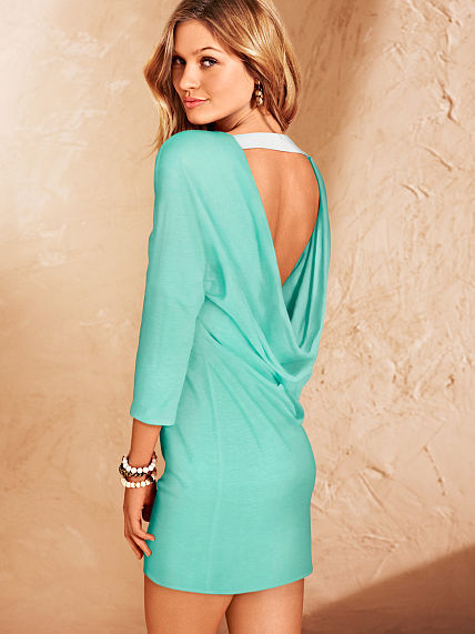 Victoria's Secret U-back Cover-up Dress