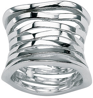 Sterling Silver Multi-Row Band