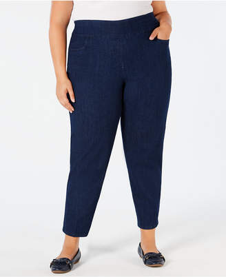 28a38686267 Alfred Dunner Plus Size Greenwich Hills Pull-On Pants