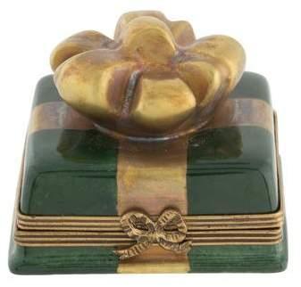 Limoges Porcelain Gift Trinket Box