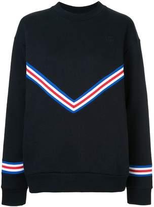 Être Cécile ribbed boyfriend sweatshirt