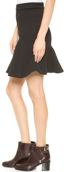 No.21 No. 21 Quilted Miniskirt