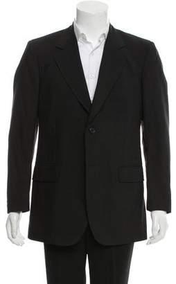 Fendi Mohair-Blend Two-Button Blazer