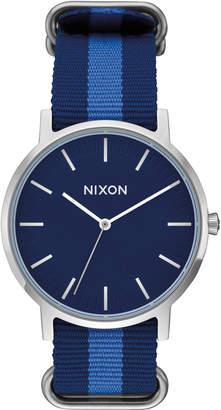 Nixon Porter Nylon with Navy Dial
