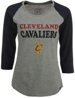 '47 Women Cleveland Cavaliers Club Block Raglan T-Shirt