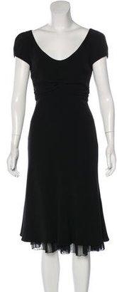 Giorgio Armani Silk Midi Dress $130 thestylecure.com