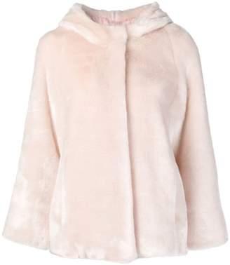 Tagliatore soft faux fur coat