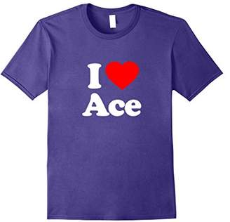 Love Heart Ace Funny Top T-Shirt