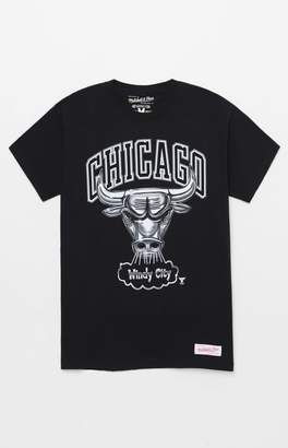 Mitchell & Ness Chicago Bulls Chrome T-Shirt