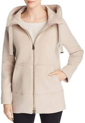 Herno Hooded Wool & Cashmere Coat
