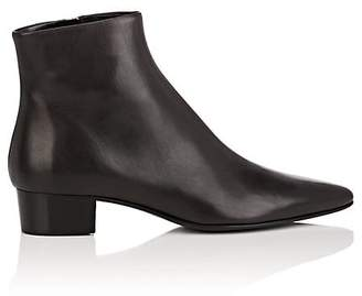 The Row Women's Ambra Leather Ankle Boots