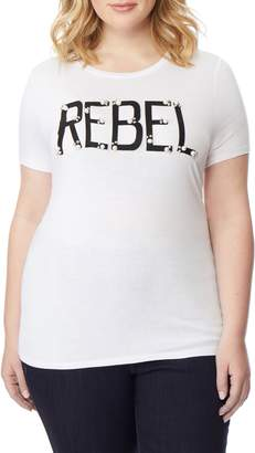Wilson Rebel X Angels Rebel Embellished Graphic Tee