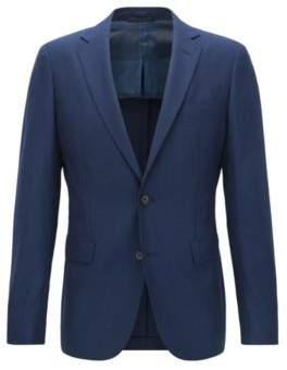 BOSS Hugo Basketweave Wool Sport Coat, Extra Slim Fit Roan 42R Dark Blue