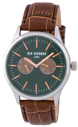 Ben Sherman Men's Spitalfields Social Quartz Watch, 43mm