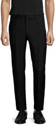 Givenchy Men's Solid Wool Flat Front Trousers