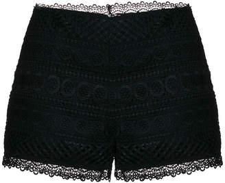 Charo Ruiz crochet lace shorts