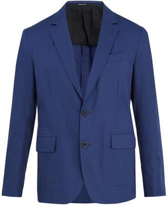 Alexander McQueen Notch-lapel cotton-twill blazer