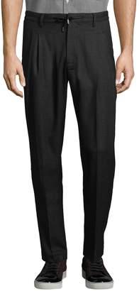 Armani Exchange Men's Plaid Casual Twill Pants