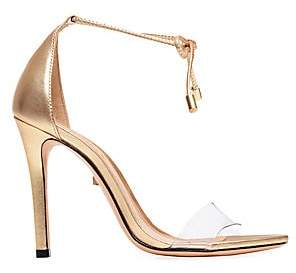 Schutz Women's Josseana Metallic Leather Ankle-Strap Heels