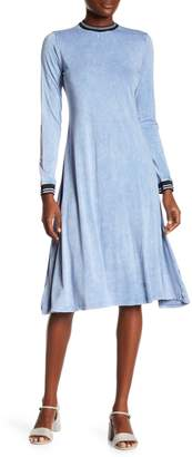 Couture Go Modest Mineral Wash Flare Dress