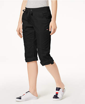Tommy Hilfiger Cotton Drawstring Capri Pants