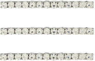 Jennifer Behr Set of 3 crystal bobby pins