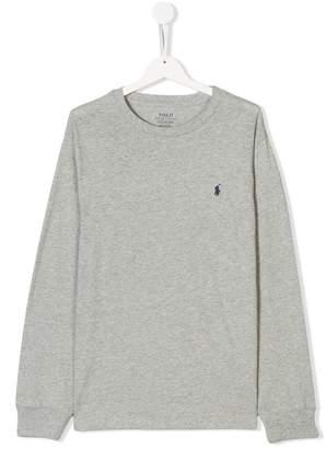 Ralph Lauren logo patch sweatshirt