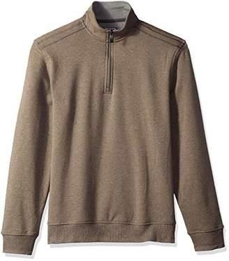 Van Heusen Men's Flex Long Sleeve 1/4 Zip Soft Spectator Sweater Fleece