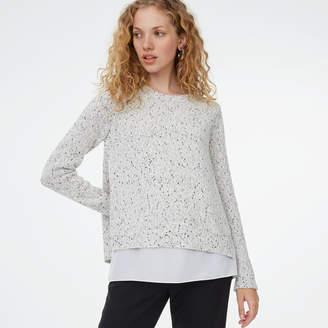 Club Monaco Kaelane Mixed Media Sweater