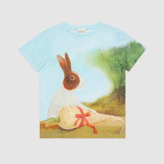 Gucci Children's Canvas Menagerie T-shirt