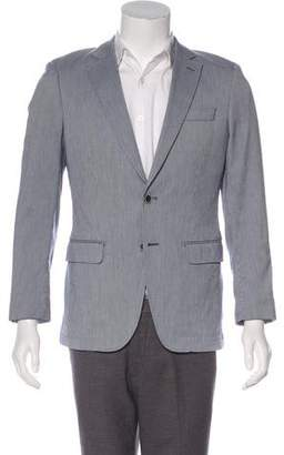 Michael Kors Woven Striped Blazer