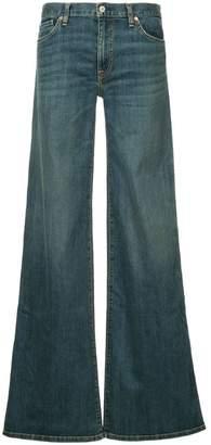 Nili Lotan flared buttoned jeans