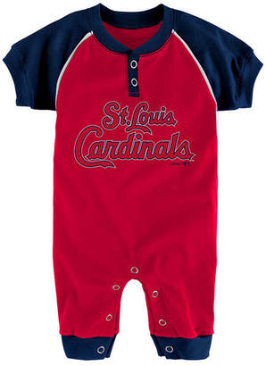 Game Time Outerstuff St. Louis Cardinals Gametime Coverall, Infants (0-9 Months)